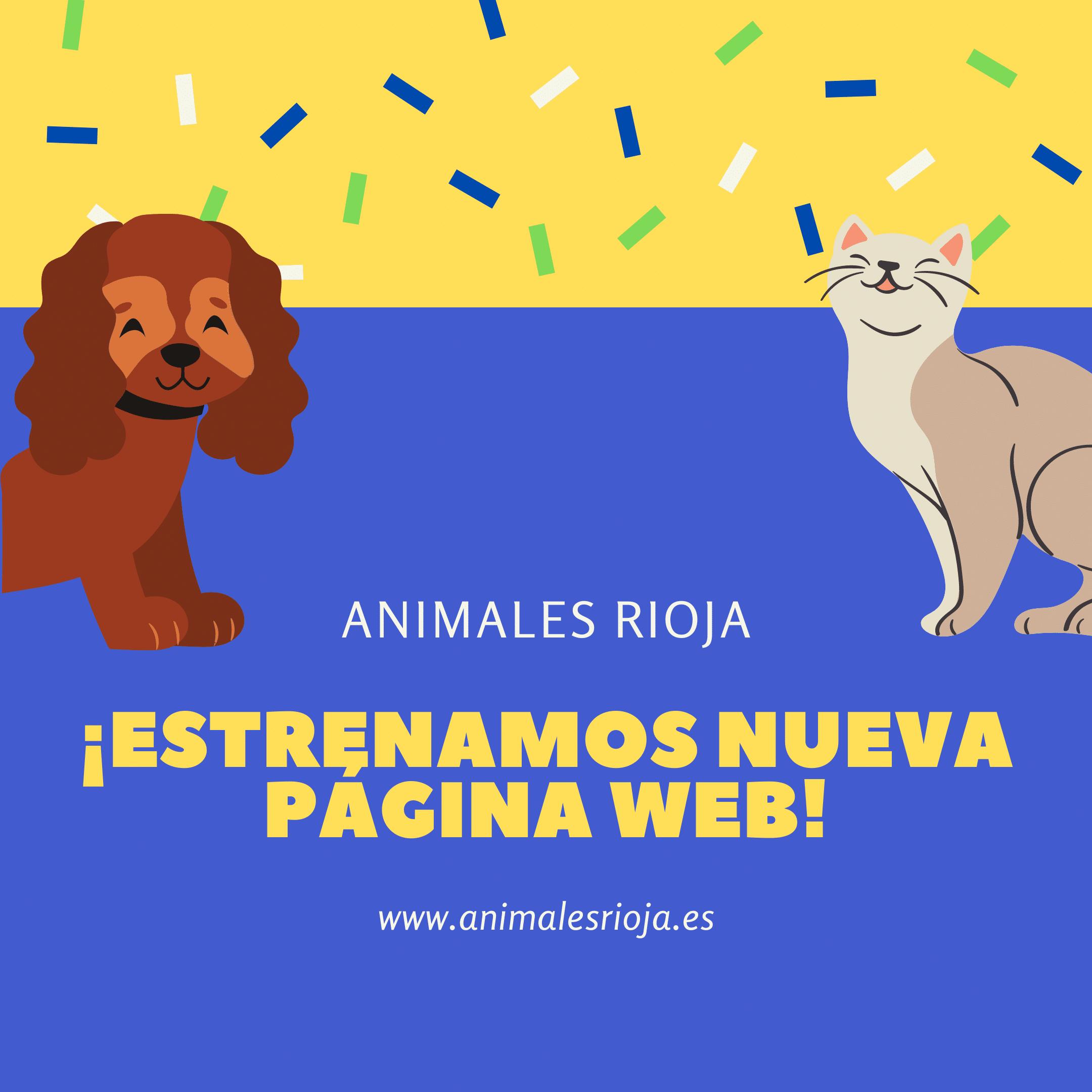 Nueva Web Animales Rioja